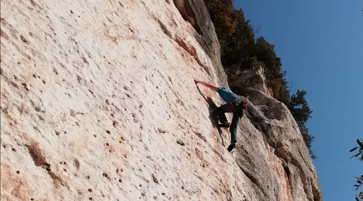 migliorare arrampicata