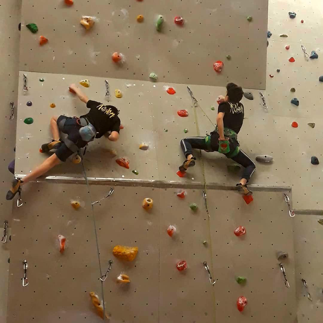 arrampicata palestra
