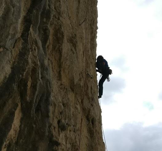 arrampicata falesia